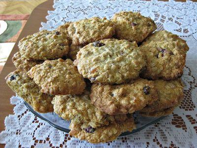 Bakaliowe ciasteczka owsiane