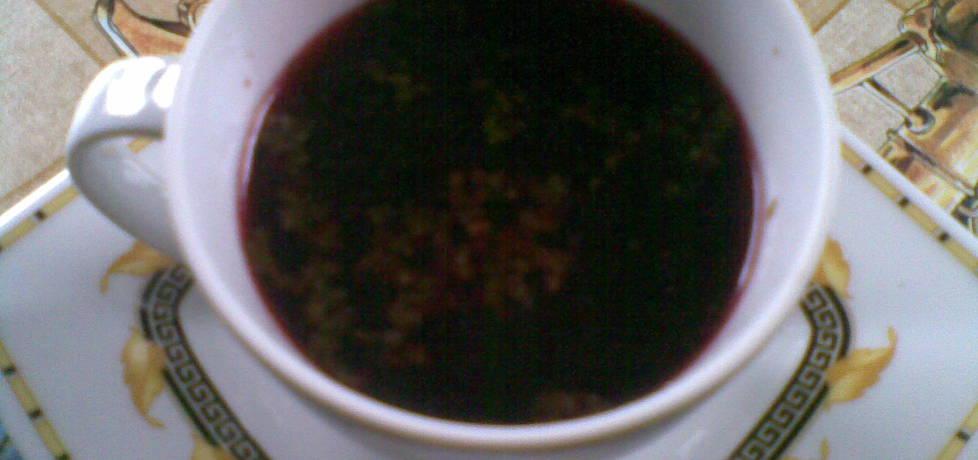 Barszczyk czerwony do picia z rosołu (autor: miroslawa4 ...