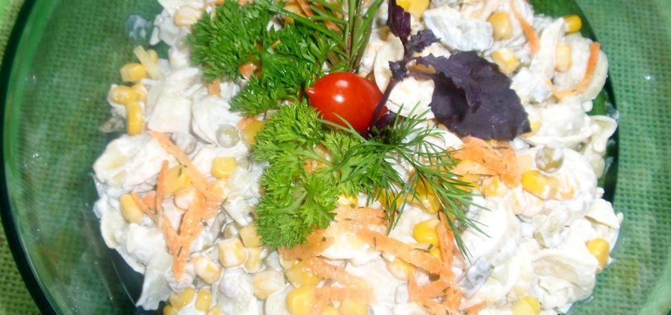Sałatka z grzybowym tortelini (autor: gosia56)