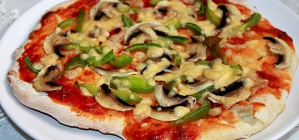 Pizza na suchych drożdżach (autor: smakolykijoanny ...