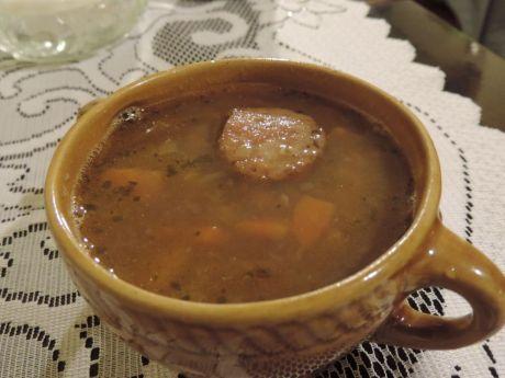 Przepis  zupa z brązowej soczewicy przepis