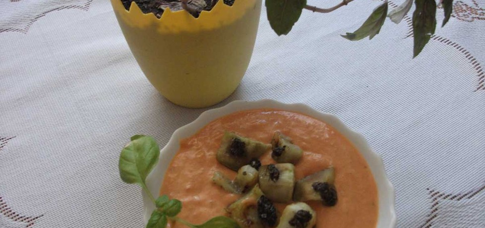 Krem z pomidorów z jogurtem (autor: adelajda)