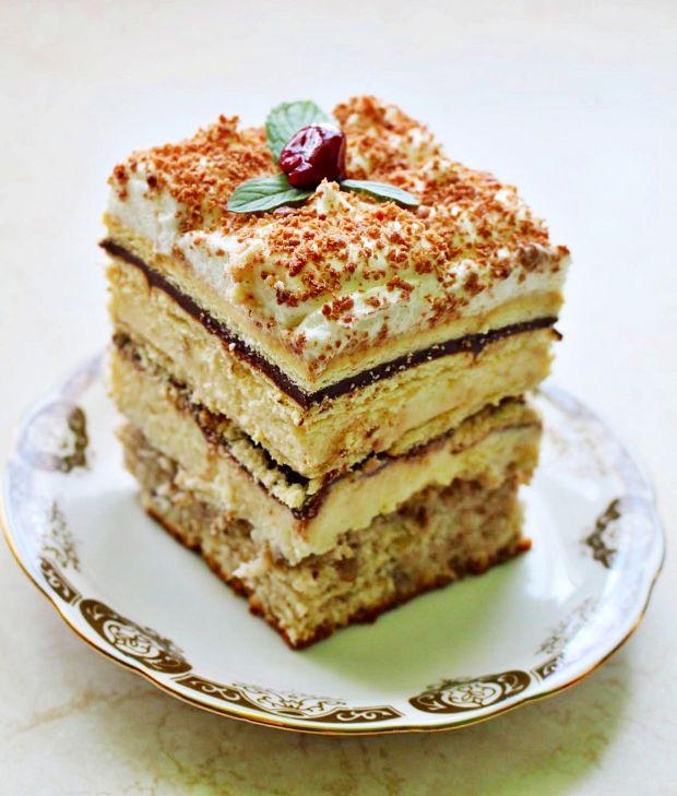 Przepis  ciasto z herbatnikami przepis