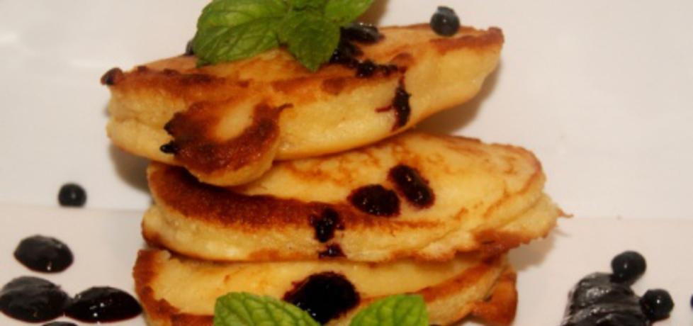 Kokosowe racuchy z jagodami na deser (autor: babciagramolka ...