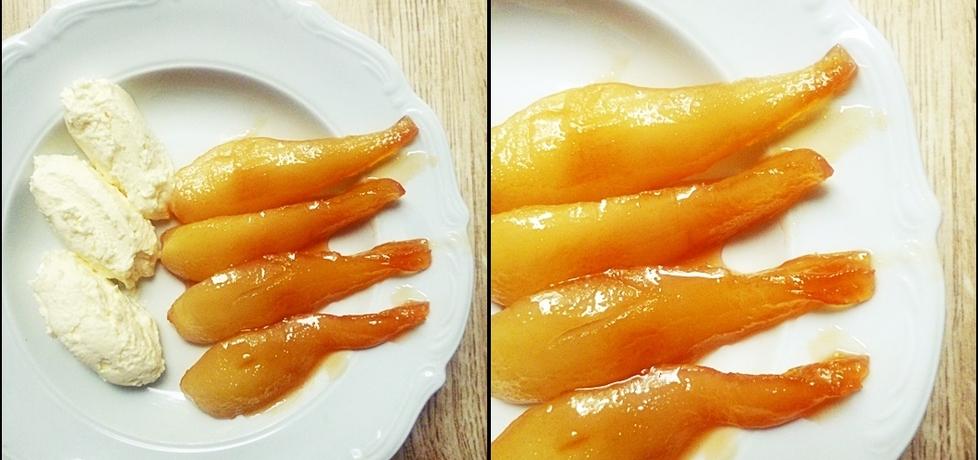 Karmelizowane gruszki (autor: aleksandra-blazik)