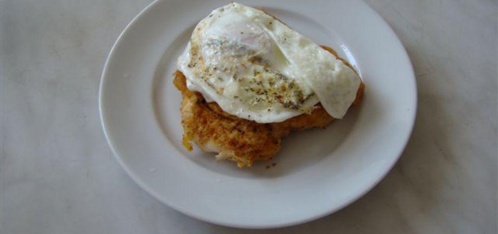 Pierś z kurczaka z jajkiem sadzonym (autor: katarzynakate1980 ...