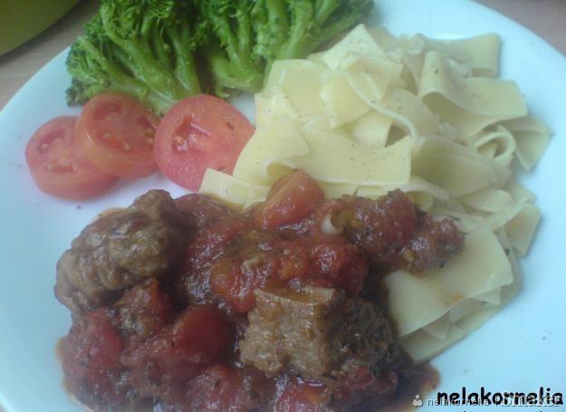 Wieprzowina w pomidorach
