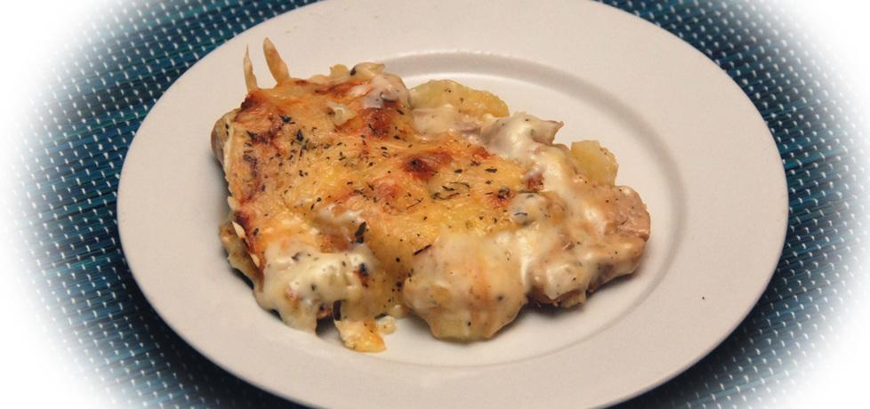 Zapiekanka z ziemniaków i polędwicy wieprzowej (autor: fotoviderek ...