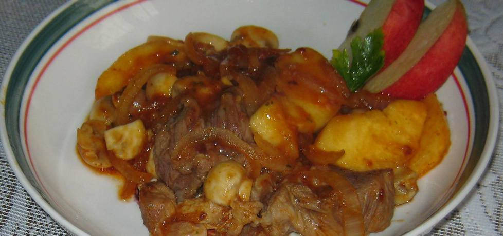 Łopatka duszona z cebulą (autor: katarzynka455)