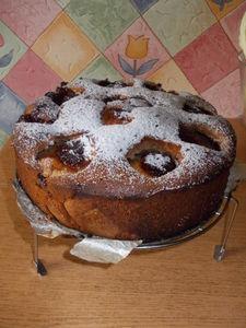 Tort z jabłek