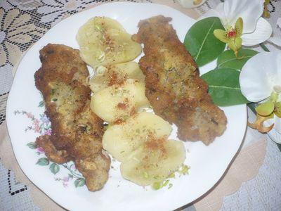 Filety rybne w koronkach