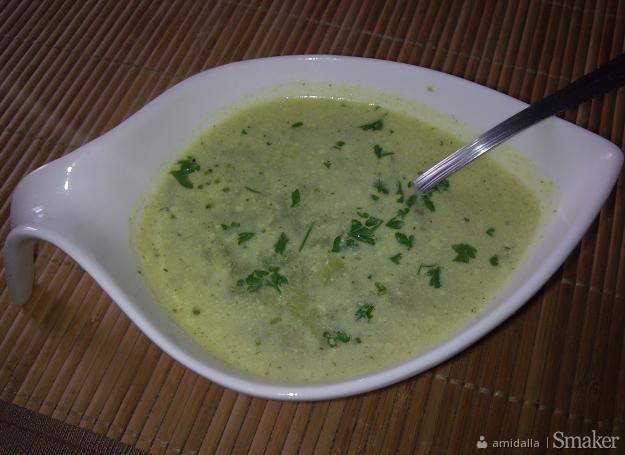 Zupa brokułowa  bardzo szybka