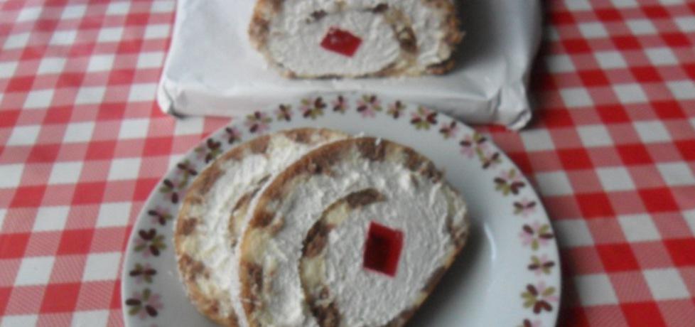 Rolada z serem mascarpone (autor: ikrakowianka)