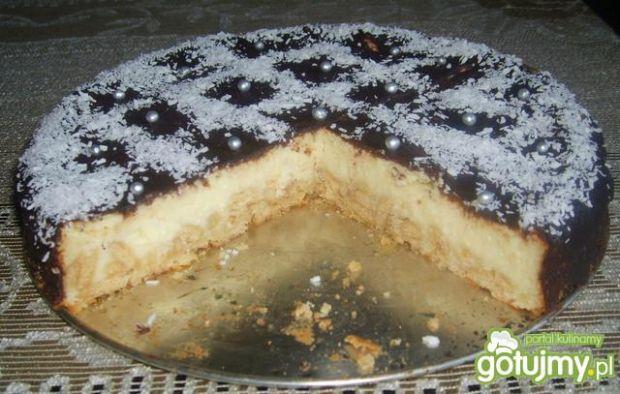 Sernik cytrynowy  przepis kulinarny