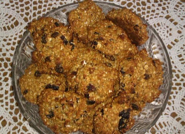 Ciasteczka owsiane bez tłuszczu