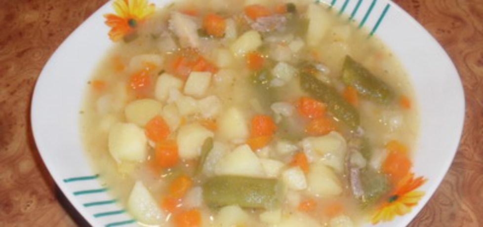 Szybka zupa jarzynka. (autor: mirkaludomila)