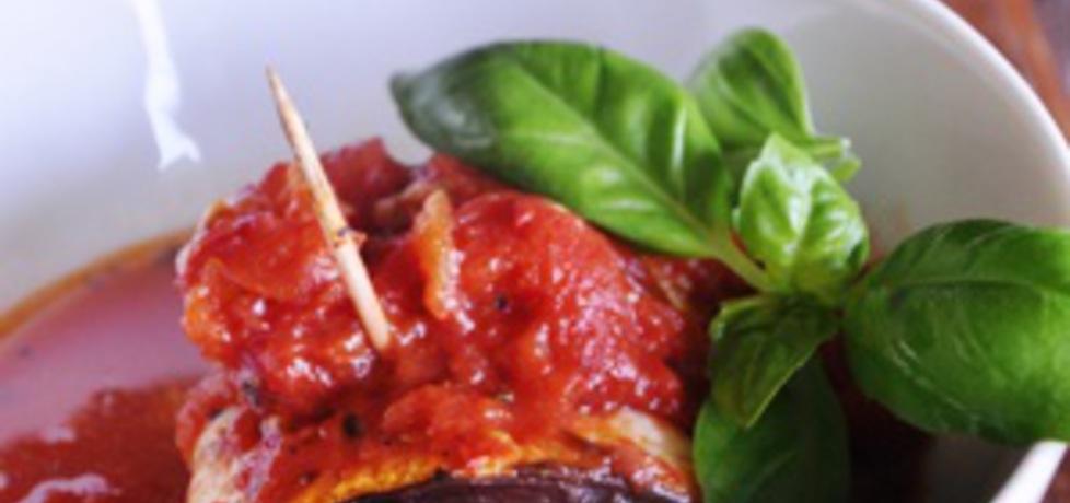 Roladki z bakłażana w pomidorach (autor: azgotuj)
