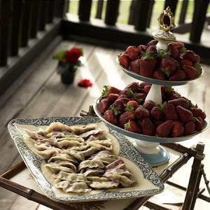 Pierogi z owocami  prosty przepis i składniki