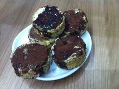 Ciasteczka orzechowe z kremem amaretto