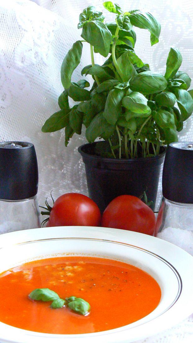 Przepis  zupa pomidorowa przepis