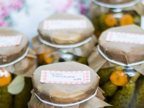 Przepis  korniszony- ogórki marynowane przepis