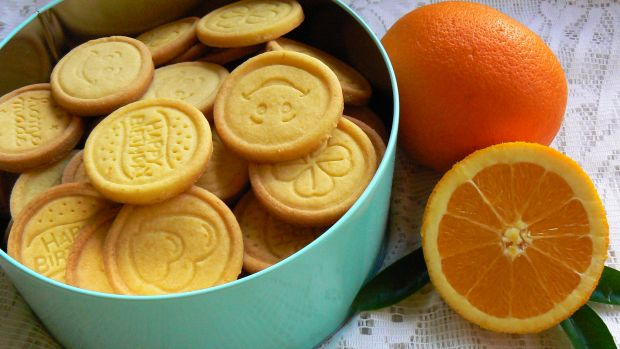 Przepis  ciasteczka pomarańczowe przepis
