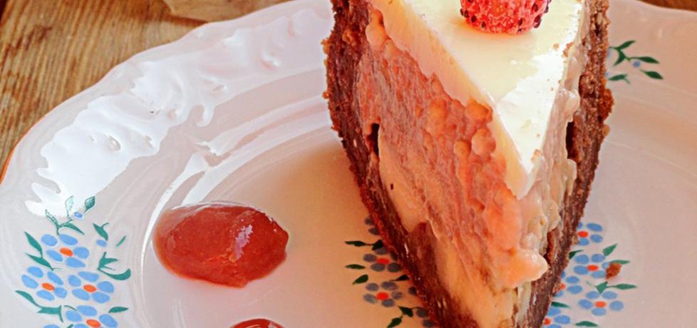 Ciasto czekoladowe z bananem i masą z tapioki (autor: rafal10 ...