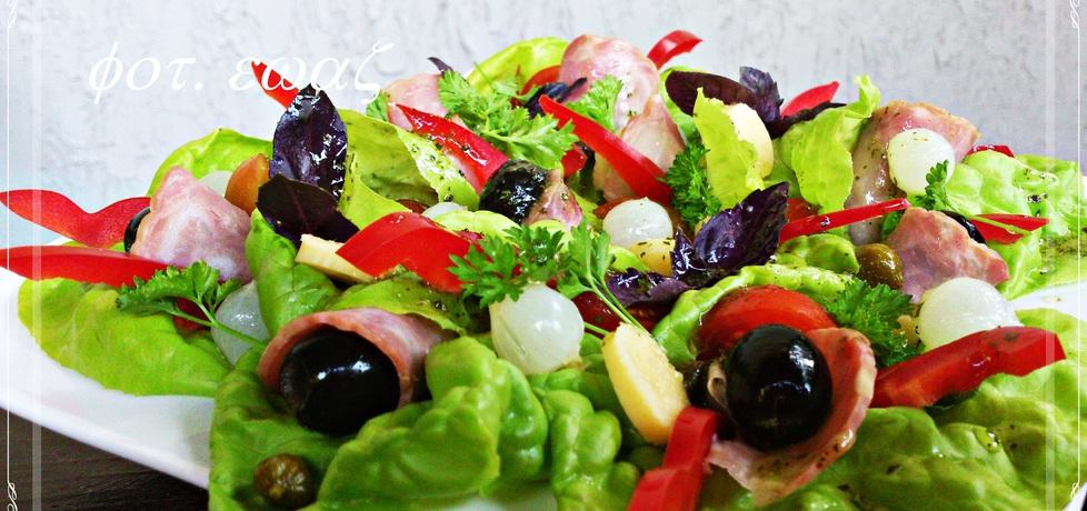 Sałatka z sosem francuskim (autor: zewa)
