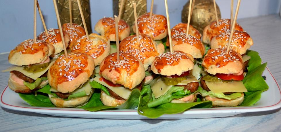Mini hamburgery (autor: xjustynka89x)
