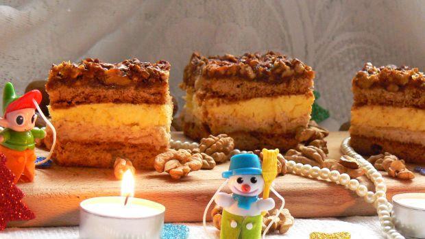 Przepis  ciasto orzechowe przepis