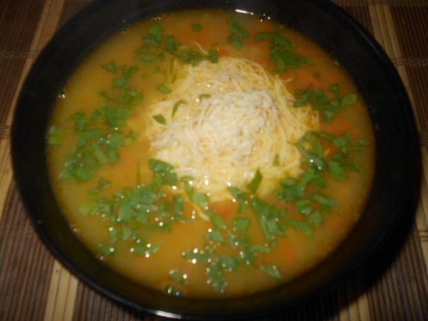 Przepis  zupa z soczewicy z serem przepis