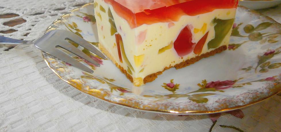 Sernik na zimno kryształek (autor: marta-ryzek