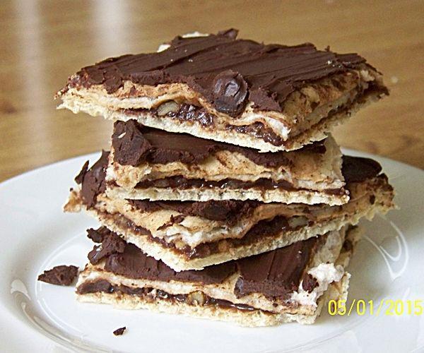 Przepis  wafelki czekoladowo-orzechowe przepis
