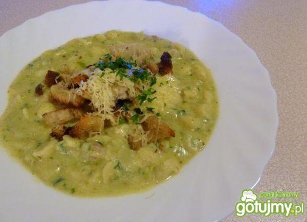 Przepis  włoska zupa ziemniaczana z pesto przepis