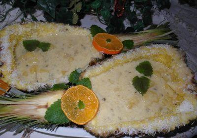 Ananasowo kokosowa zupa z fantazją