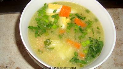 Zupa z selera naciowego i pora