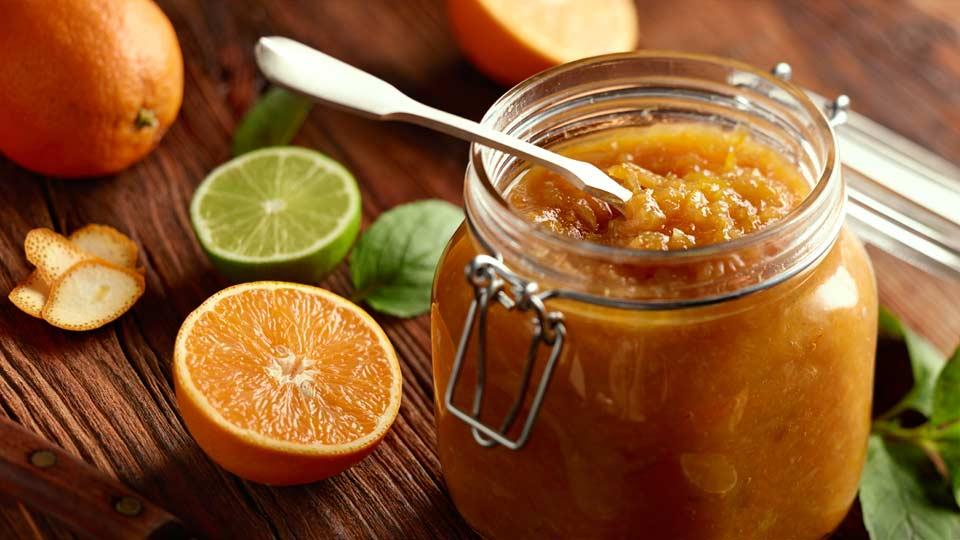 Przepis na konfiturę pomarańczową