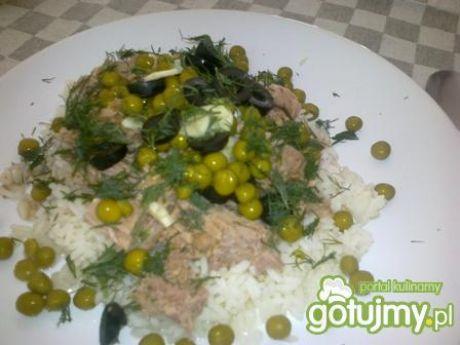 Przepis  ryż z tuńczykiem przepis