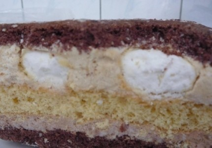 Ciasto z chałwą na wielkanoc