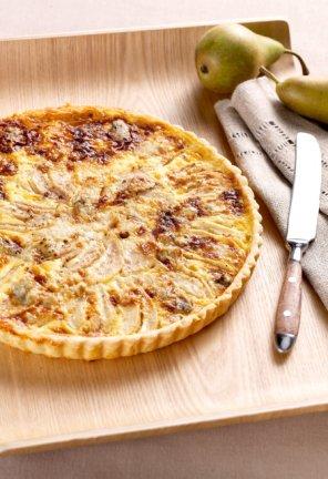 Tarta z gruszkami i gorgonzolą  prosty przepis i składniki