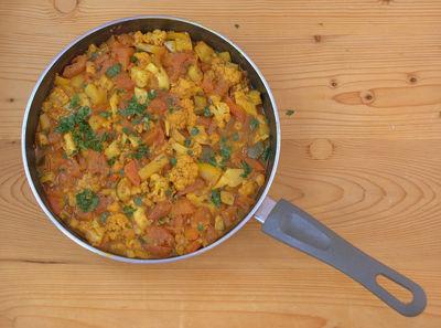 Jalfrezi curry jamiego olivera