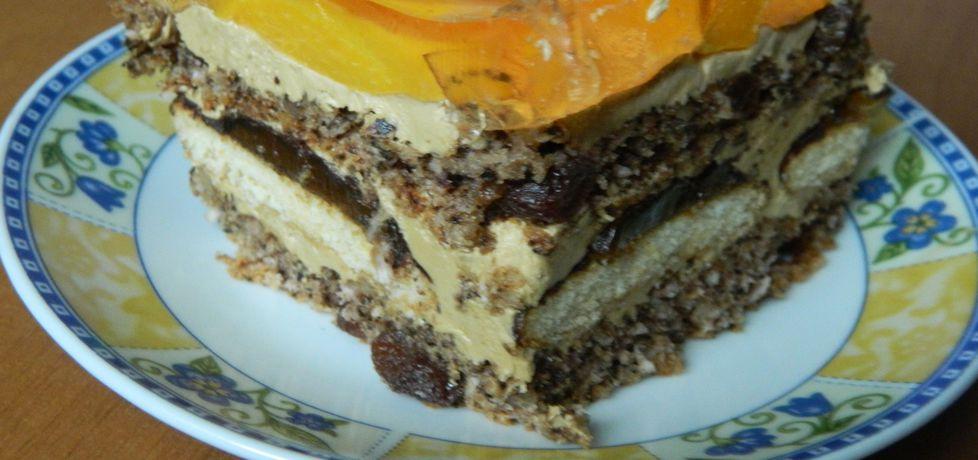 Ciasto orzechowe z masą kawową (autor: bietka)