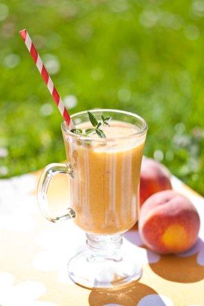 Koktajl brzoskwiniowo-pomarańczowy