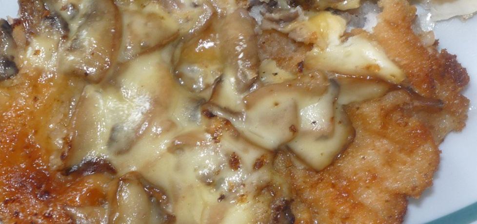 Kotlet z pieczarkami i serem żółtym (autor: gosia4747 ...