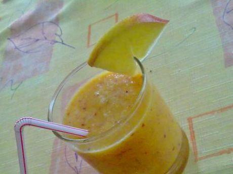 Przepis  smoothie z nektarynek i jabłka przepis