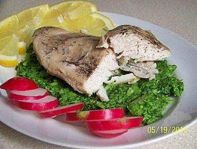 Fit kurczak w musie brokułowo