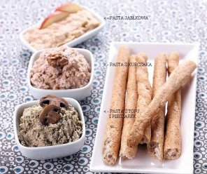 Pasta z tofu i pieczarek  prosty przepis i składniki