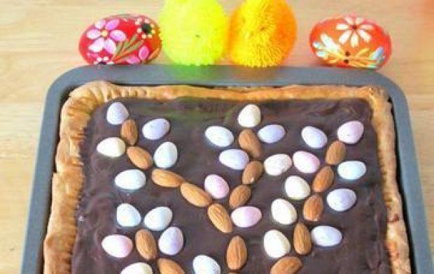 Przepis  mazurek kajmakowo-czekoladowy przepis