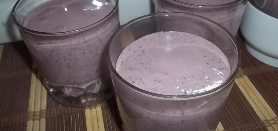 Koktajl jogurtowo-jagodowy (autor: beatris)