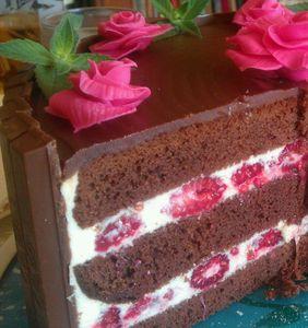 Czekoladowy tort kit